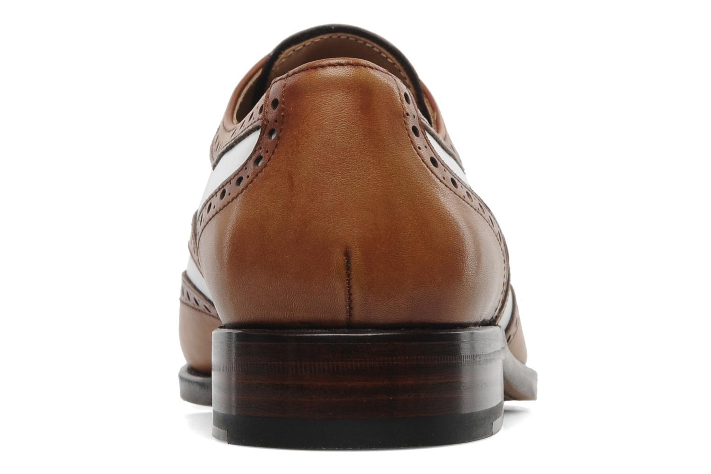 Chaussures à lacets Marvin&Co Luxe Waldemar - Cousu Goodyear Marron vue droite