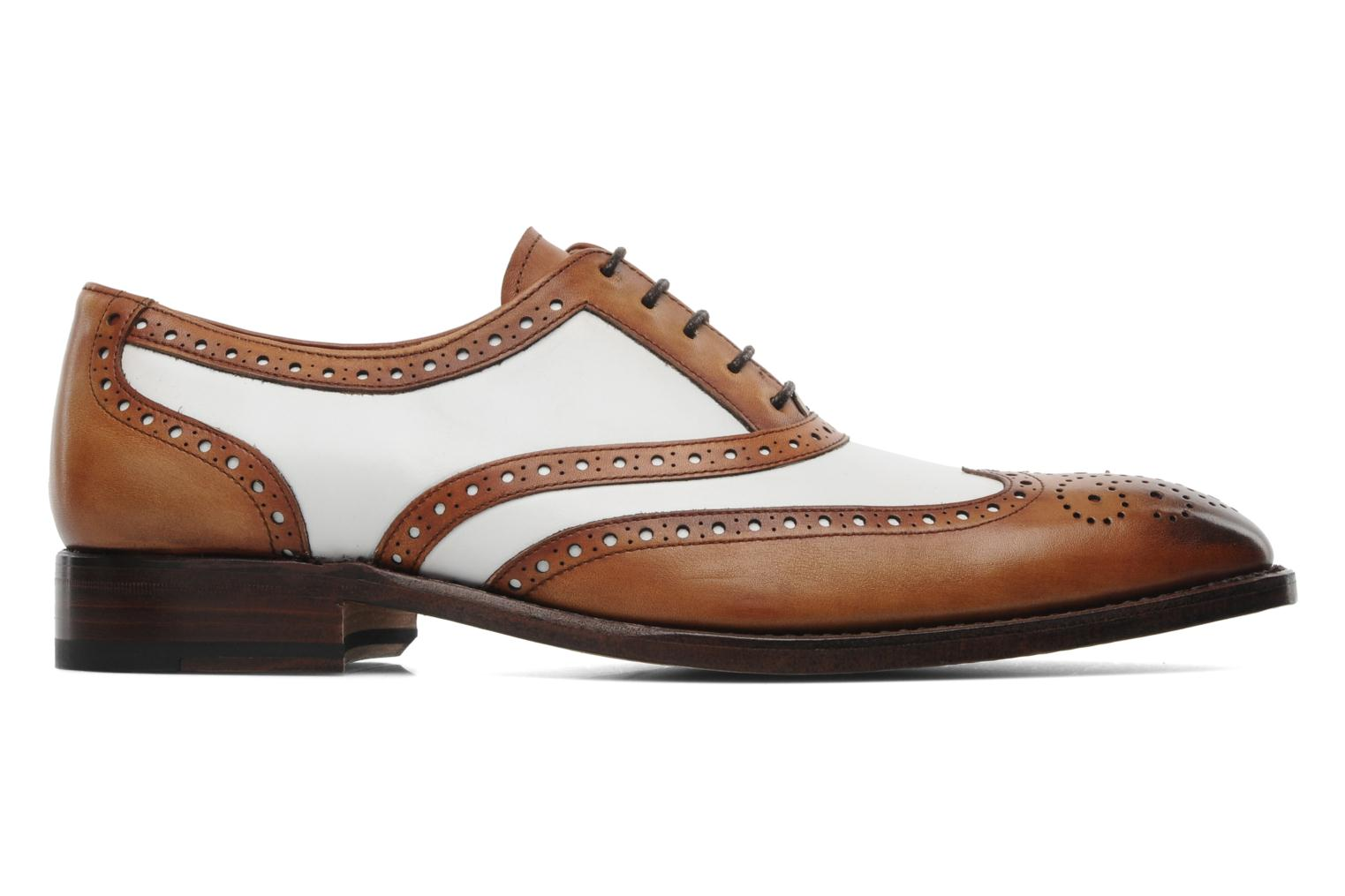 Lace-up shoes Marvin&Co Luxe Waldemar Brown back view