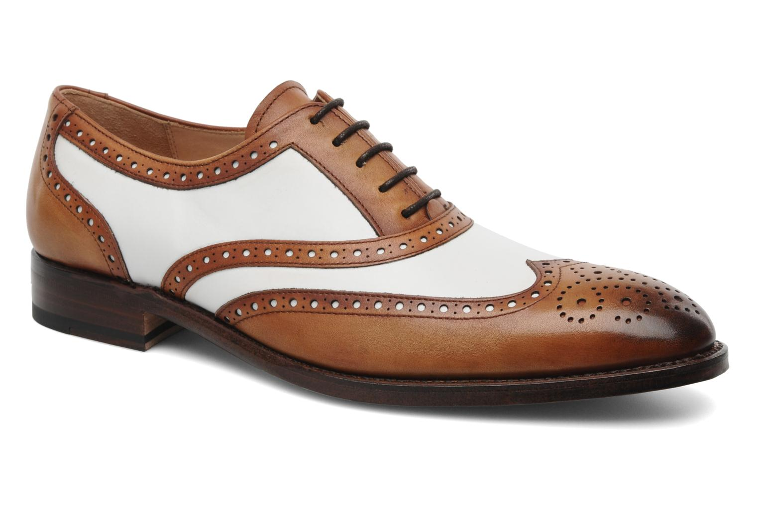 Lace-up shoes Marvin&Co Luxe Waldemar Brown detailed view/ Pair view