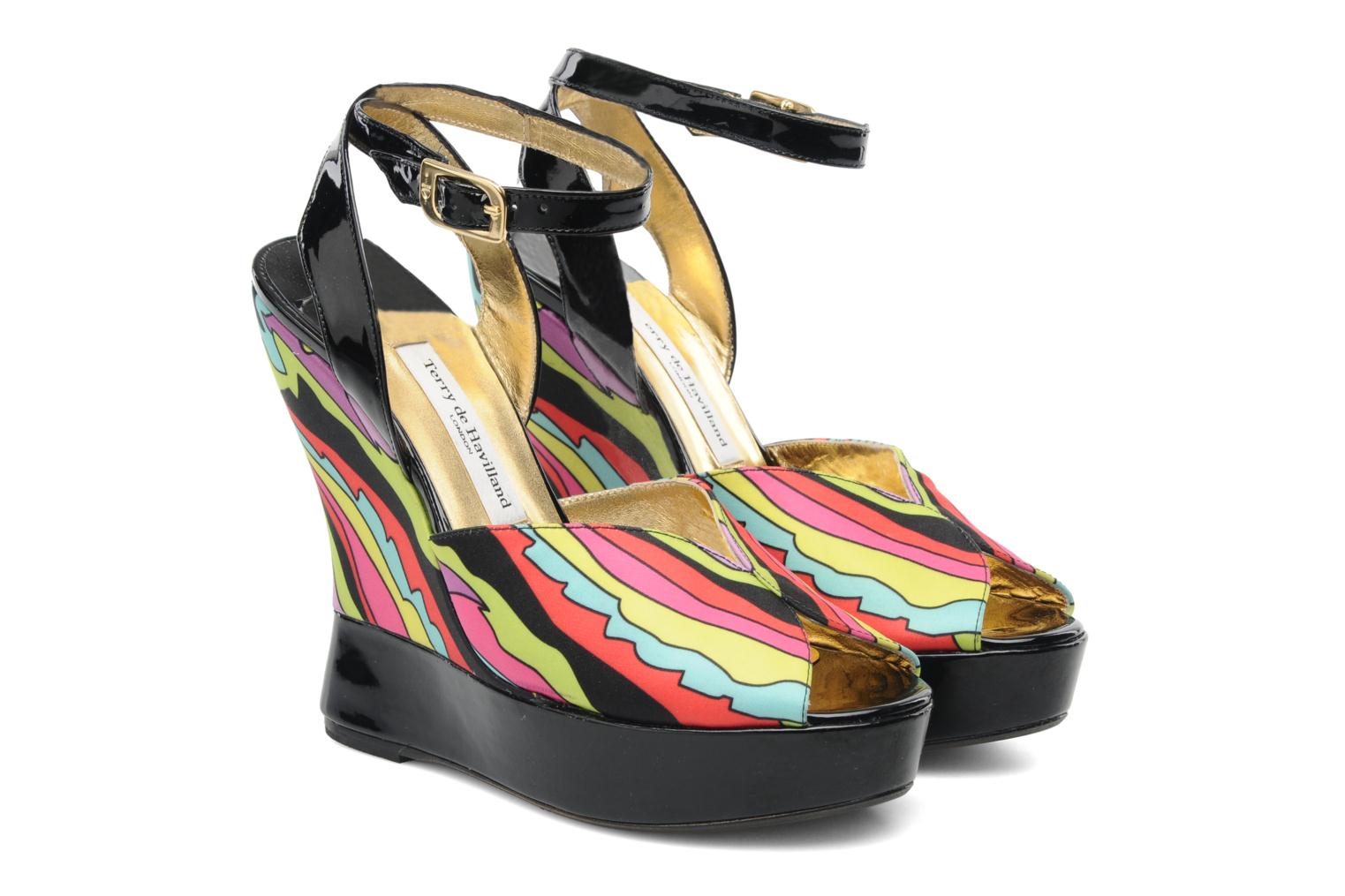 Sandales et nu-pieds Terry de Havilland Trippy Multicolore vue 3/4