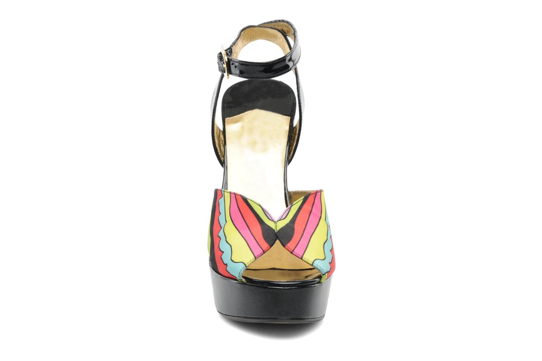 Sandales et nu-pieds Terry de Havilland Trippy Multicolore vue portées chaussures