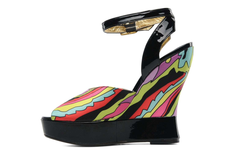 Sandales et nu-pieds Terry de Havilland Trippy Multicolore vue face