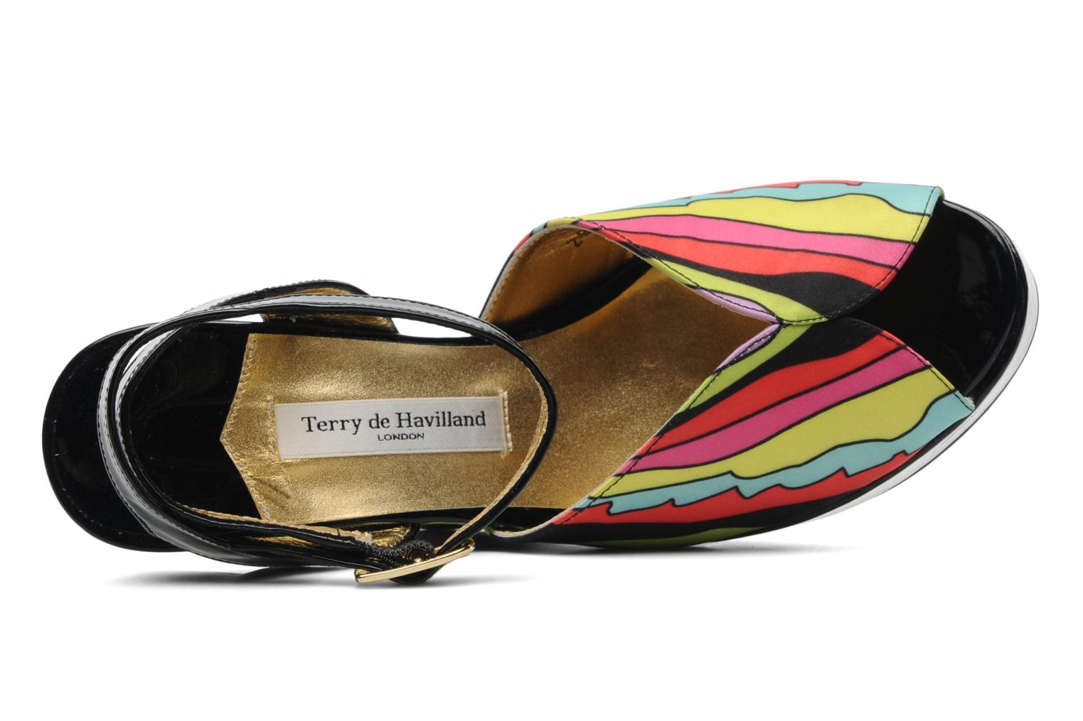 Sandals Terry de Havilland Trippy Multicolor view from the left