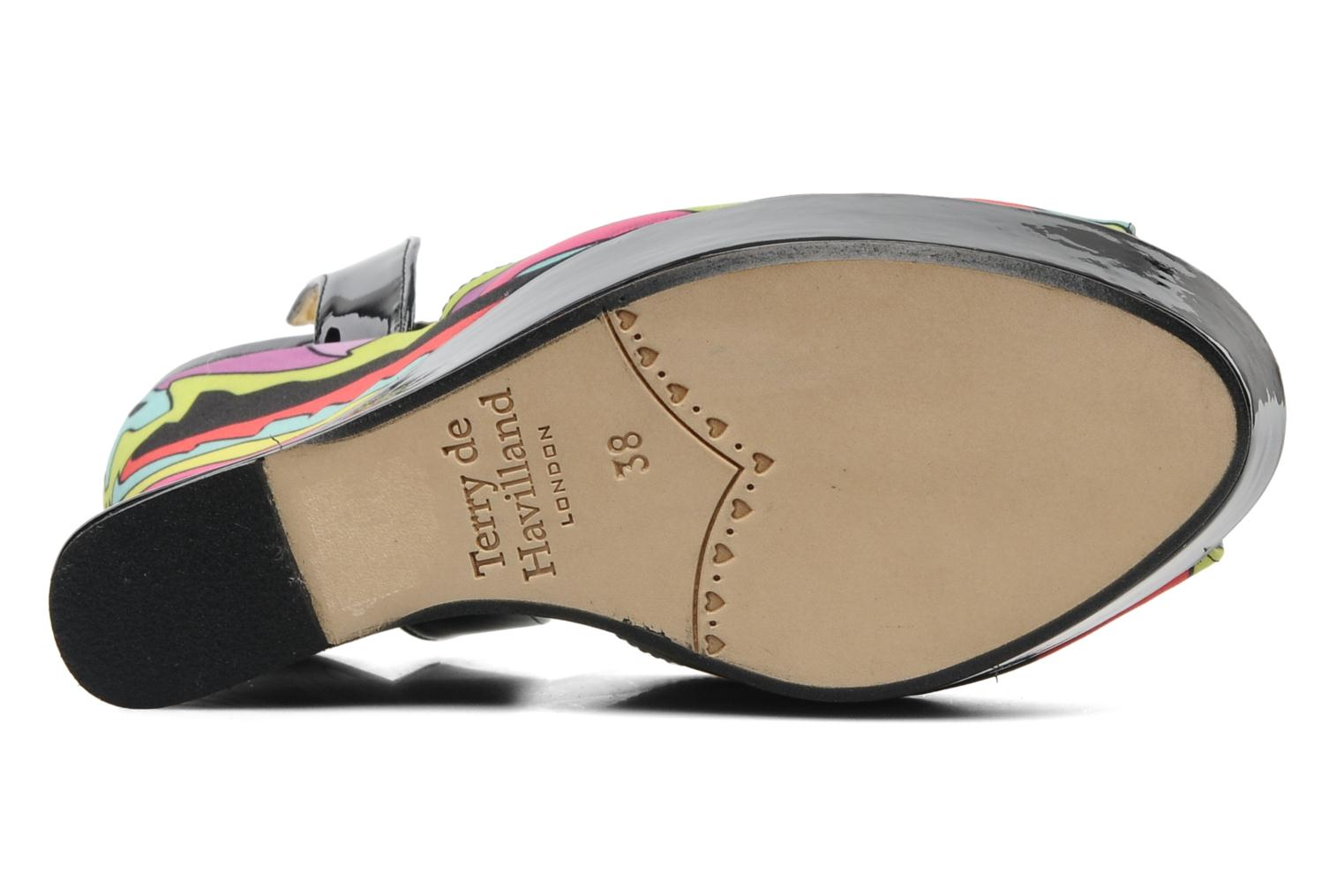 Sandals Terry de Havilland Trippy Multicolor view from above
