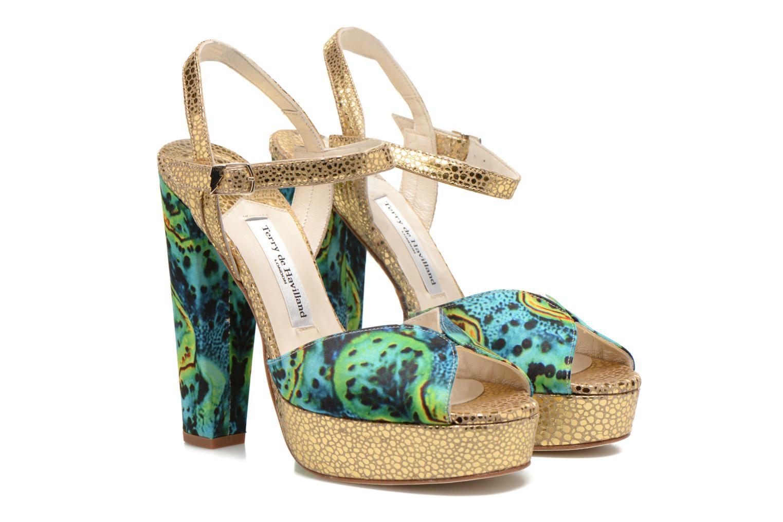 Sandali e scarpe aperte Terry de Havilland Coco Verde immagine 3/4
