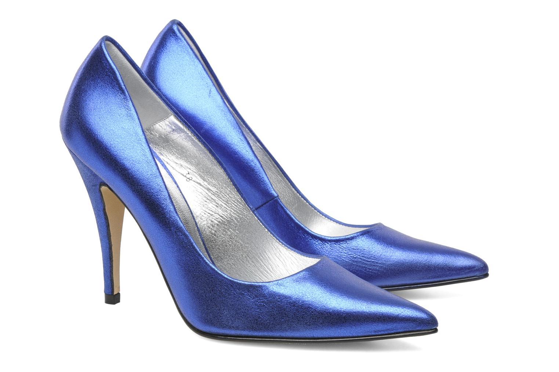 Zapatos de tacón Terry de Havilland Angelina Azul vista 3/4