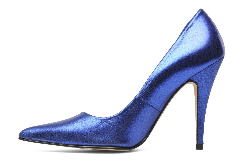 Zapatos de tacón Terry de Havilland Angelina Azul vista de frente