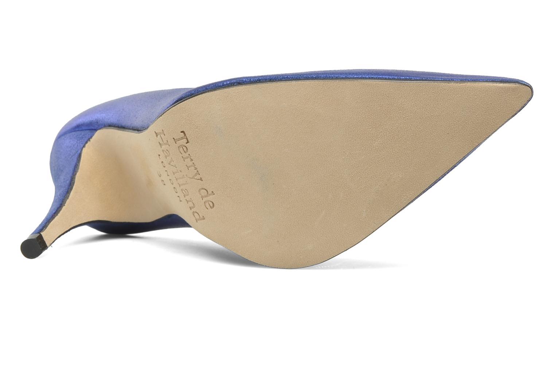 Zapatos de tacón Terry de Havilland Angelina Azul vista de arriba