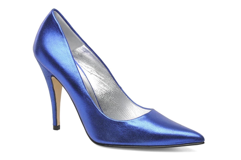 High heels Terry de Havilland Angelina Blue detailed view/ Pair view