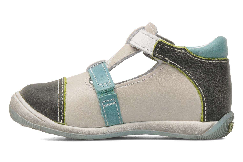 Sandalen GBB GEO grau ansicht von vorne