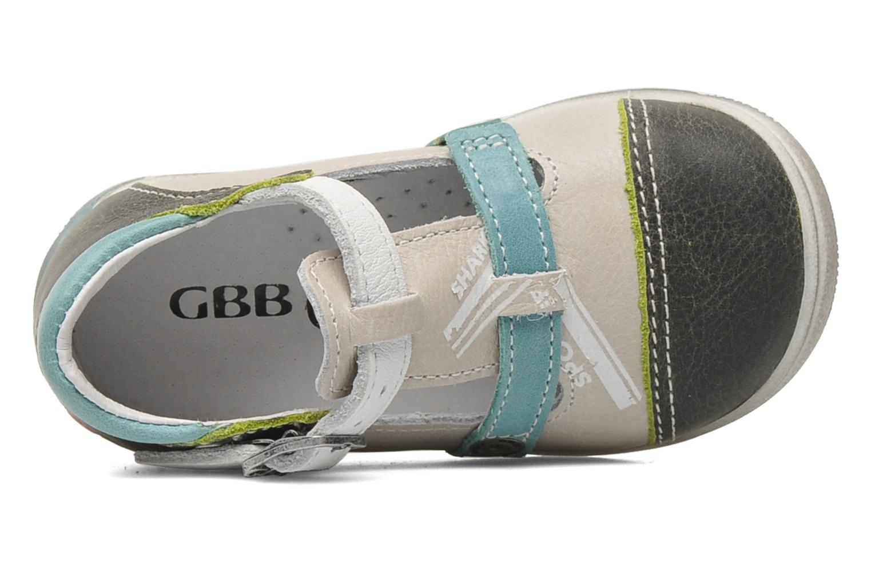 Sandalen GBB GEO grau ansicht von links