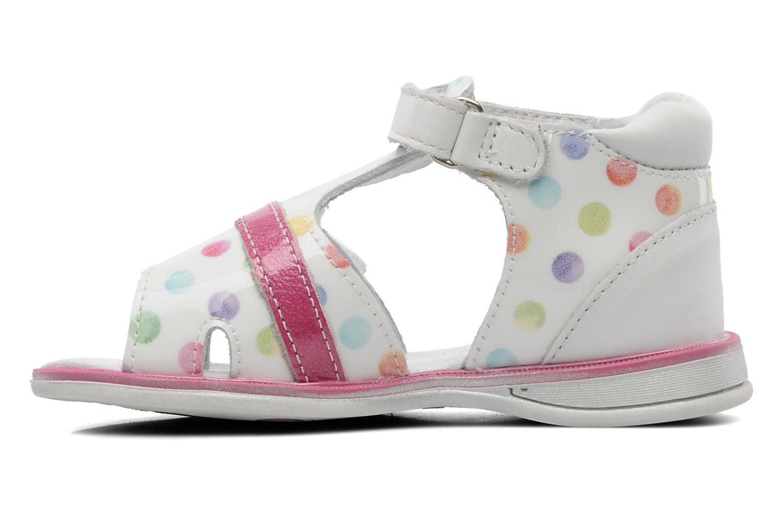 Sandales et nu-pieds GBB GEORGIE Multicolore vue face