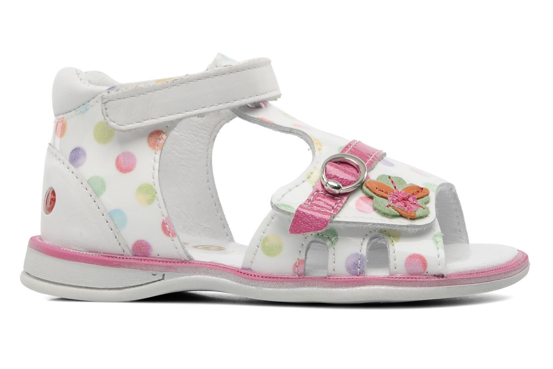 Sandales et nu-pieds GBB GEORGIE Multicolore vue derrière