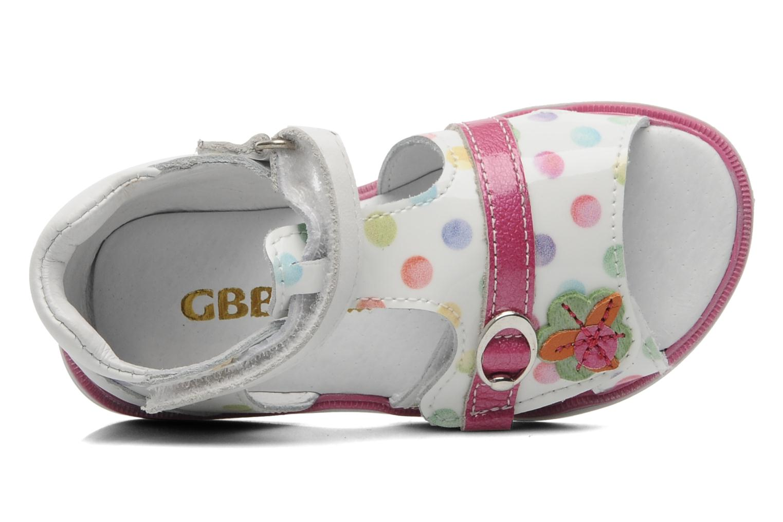 Sandales et nu-pieds GBB GEORGIE Multicolore vue gauche