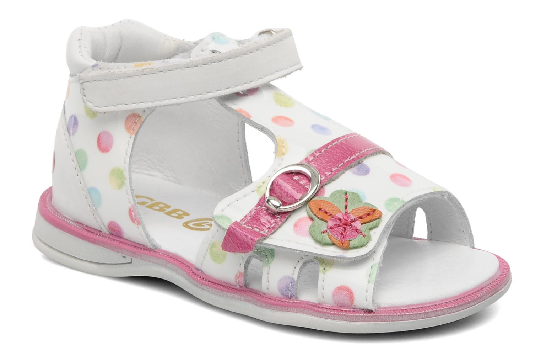 Sandales et nu-pieds GBB GEORGIE Multicolore vue détail/paire
