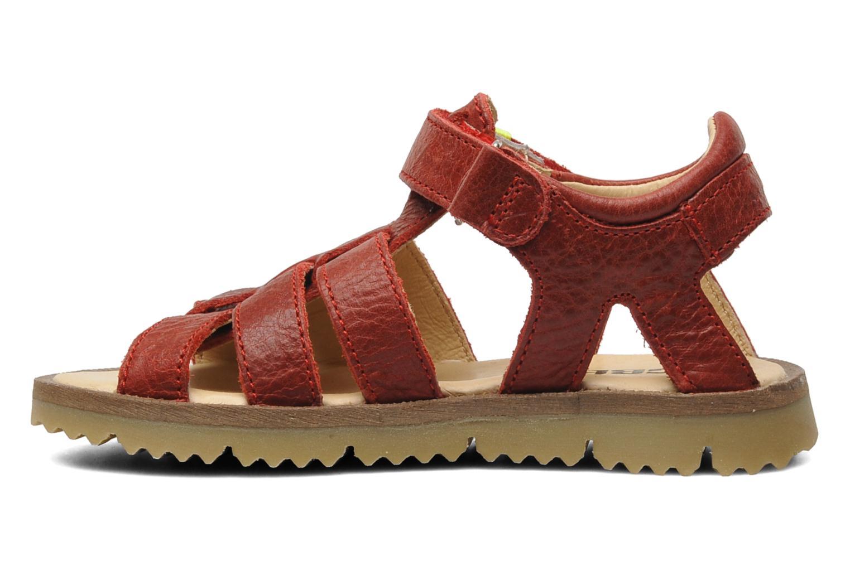 Sandalen GBB GREG Rood voorkant