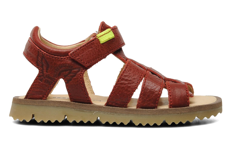 Sandalen GBB GREG Rood achterkant