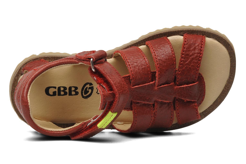 Sandalen GBB GREG Rood links