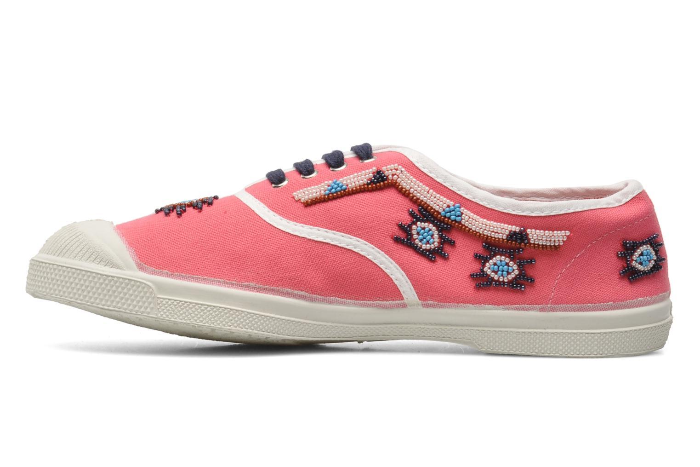 Sneaker Bensimon Tennis Irokoa rosa ansicht von vorne