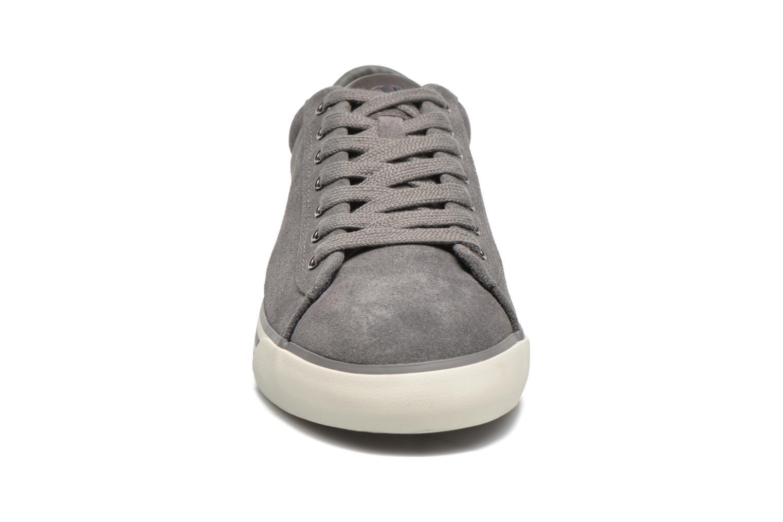 Baskets Polo Ralph Lauren Harvey Gris vue portées chaussures