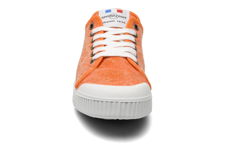 Sneaker Spring Court G2 Goldust W orange schuhe getragen
