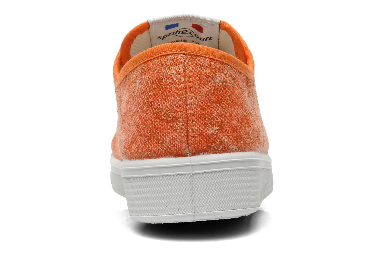 Sneaker Spring Court G2 Goldust W orange ansicht von rechts