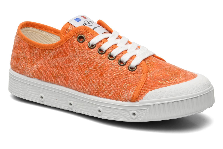Sneakers Spring Court G2 Goldust W Oranje detail
