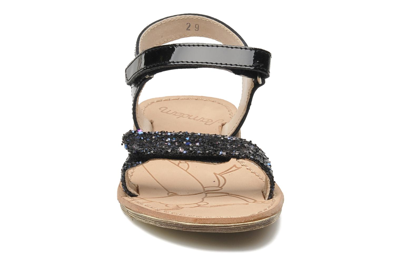 Sandales et nu-pieds Ramdam by GBB NAIROBI Noir vue portées chaussures