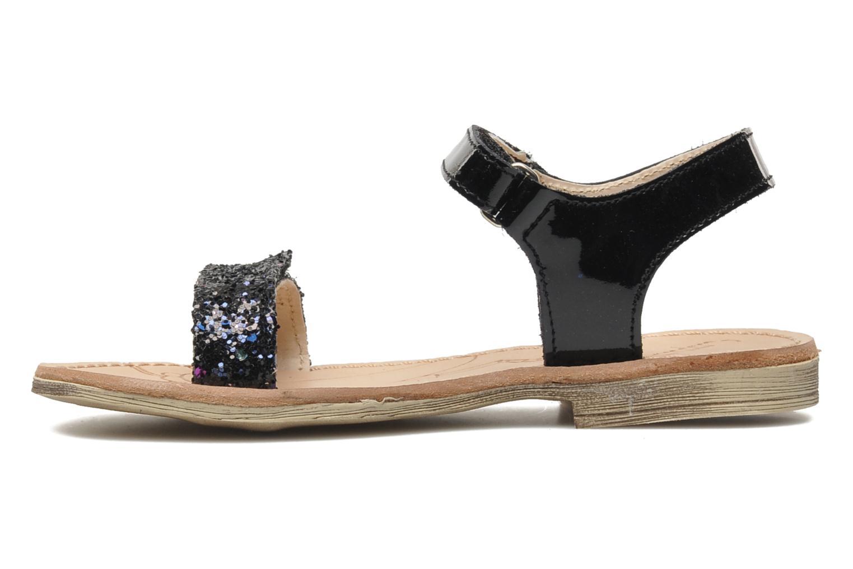 Sandales et nu-pieds Ramdam by GBB NAIROBI Noir vue face