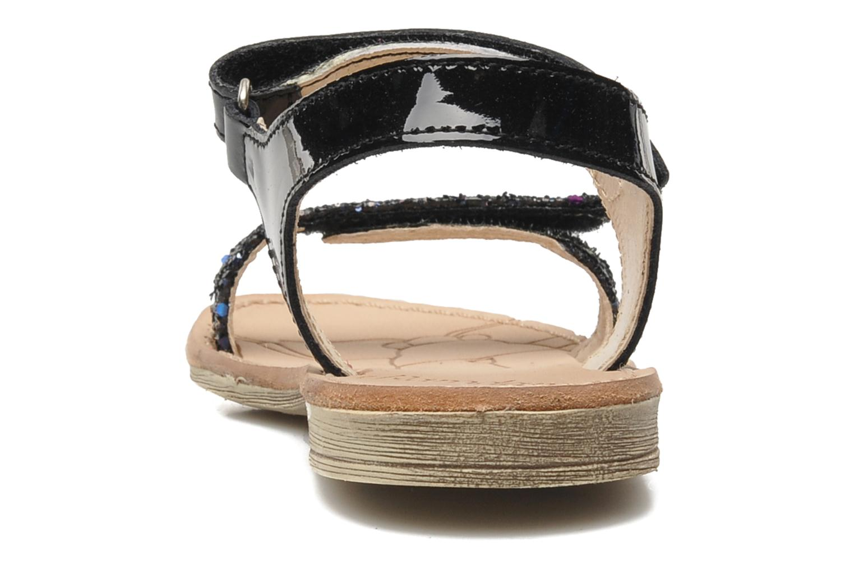 Sandales et nu-pieds Ramdam by GBB NAIROBI Noir vue droite