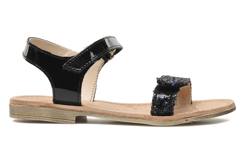 Sandales et nu-pieds Ramdam by GBB NAIROBI Noir vue derrière