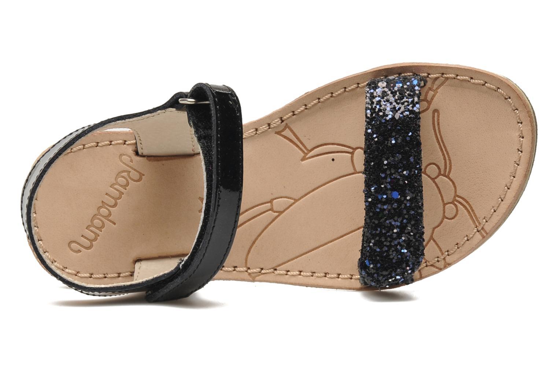 Sandales et nu-pieds Ramdam by GBB NAIROBI Noir vue gauche