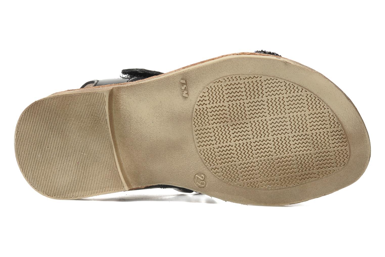 Sandales et nu-pieds Ramdam by GBB NAIROBI Noir vue haut