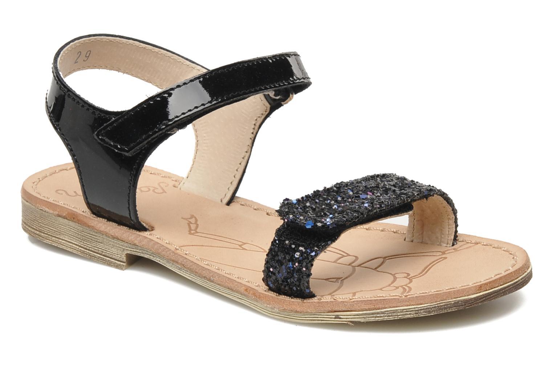 Sandales et nu-pieds Ramdam by GBB NAIROBI Noir vue détail/paire