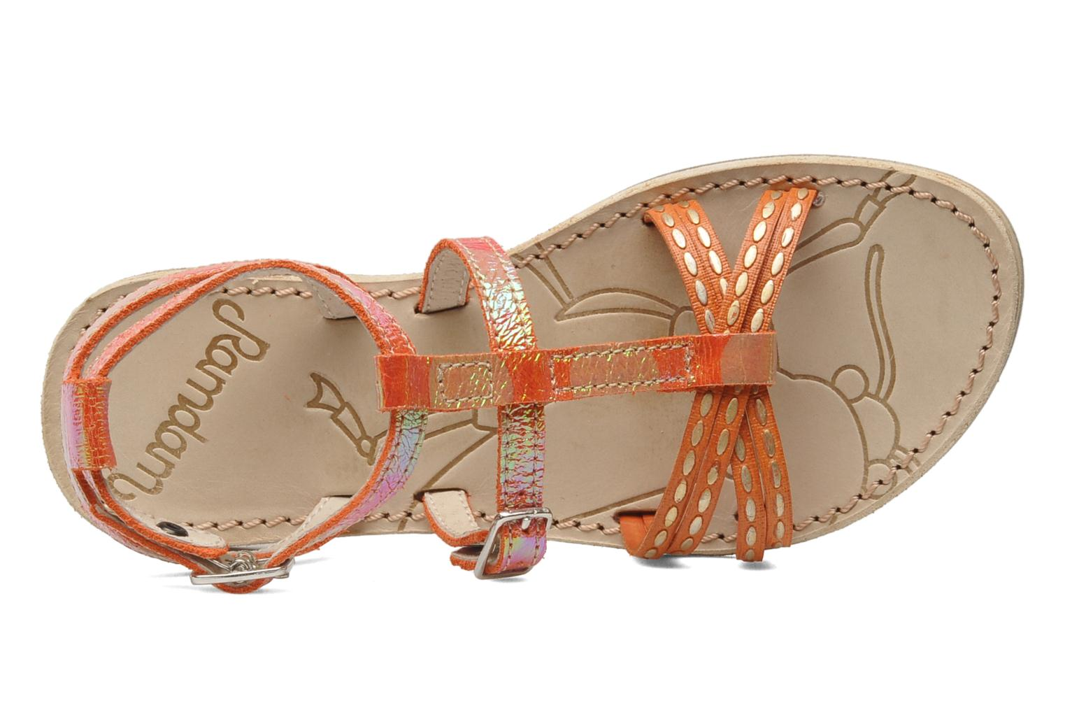 Sandalen Ramdam by GBB RABAT orange ansicht von links