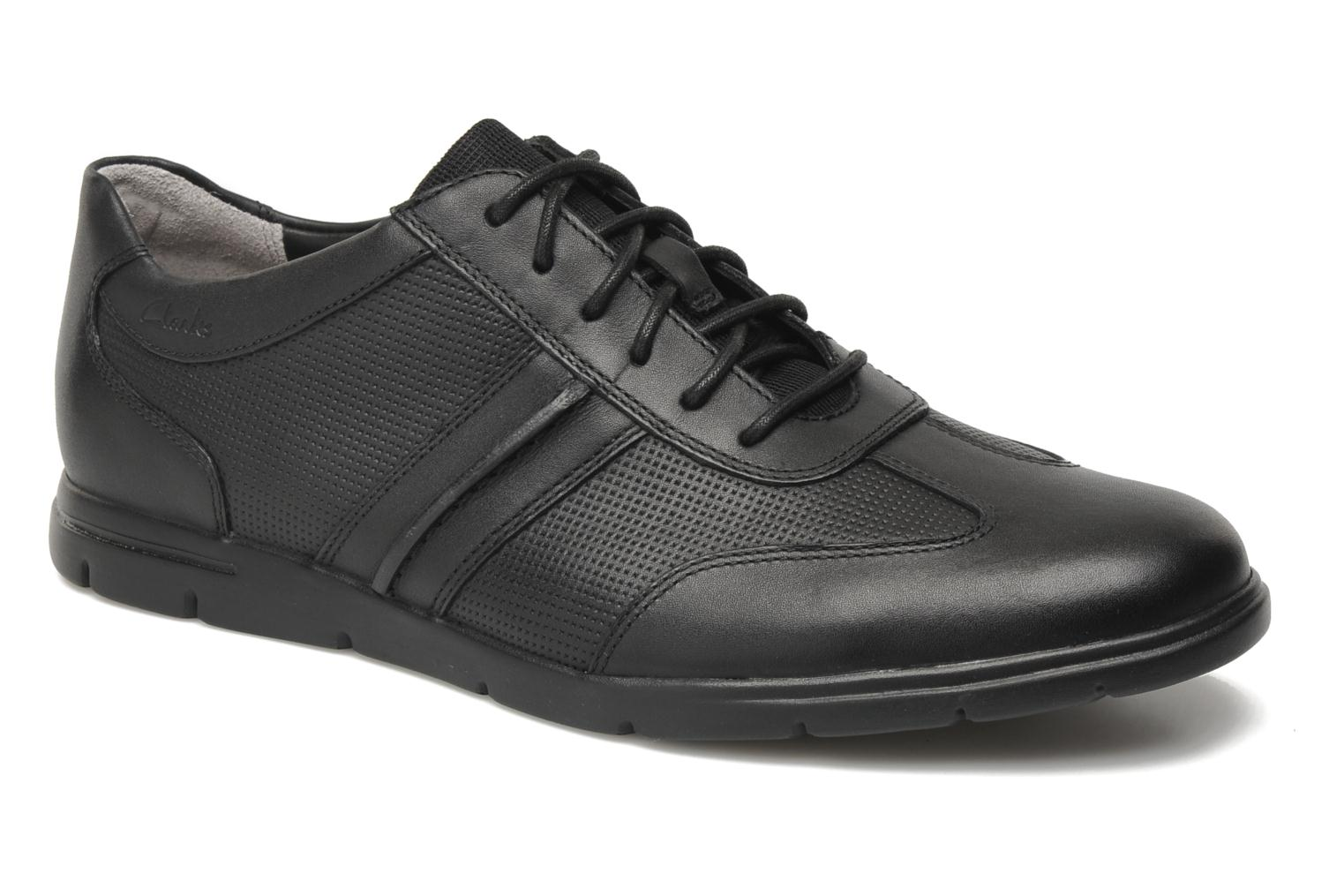Denner Race Black leather