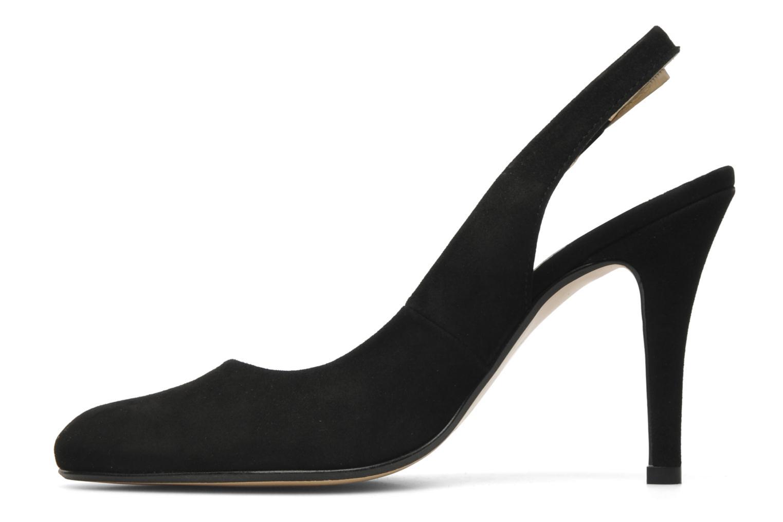 Zapatos de tacón Georgia Rose Valabe Negro vista de frente