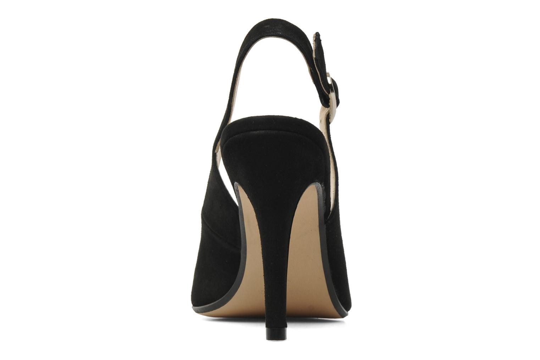 Zapatos de tacón Georgia Rose Valabe Negro vista lateral derecha