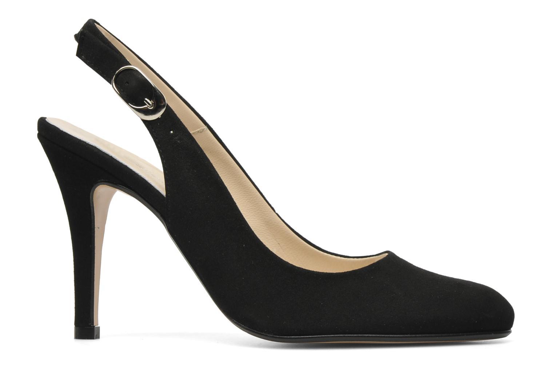 Zapatos de tacón Georgia Rose Valabe Negro vistra trasera