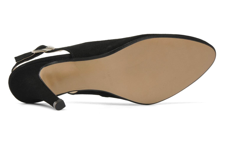 Zapatos de tacón Georgia Rose Valabe Negro vista de arriba