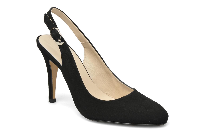Zapatos de tacón Georgia Rose Valabe Negro vista de detalle / par