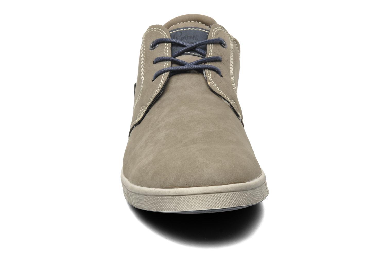 Chaussures à lacets I Love Shoes Sumanges Gris vue portées chaussures