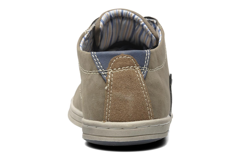 Chaussures à lacets I Love Shoes Sumanges Gris vue droite