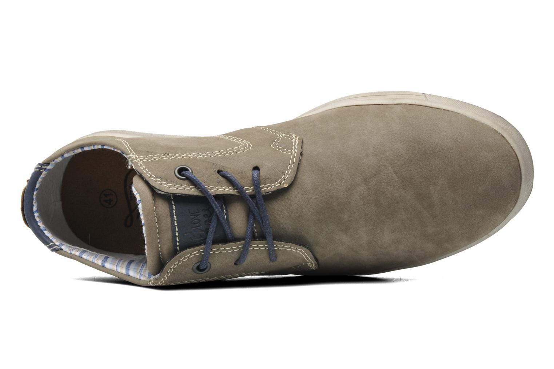 Chaussures à lacets I Love Shoes Sumanges Gris vue gauche