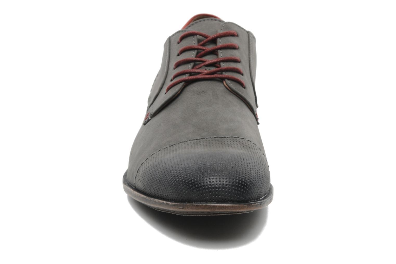 Schnürschuhe I Love Shoes Suréponds grau schuhe getragen