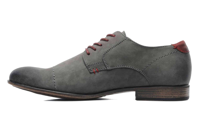 Schnürschuhe I Love Shoes Suréponds grau ansicht von vorne