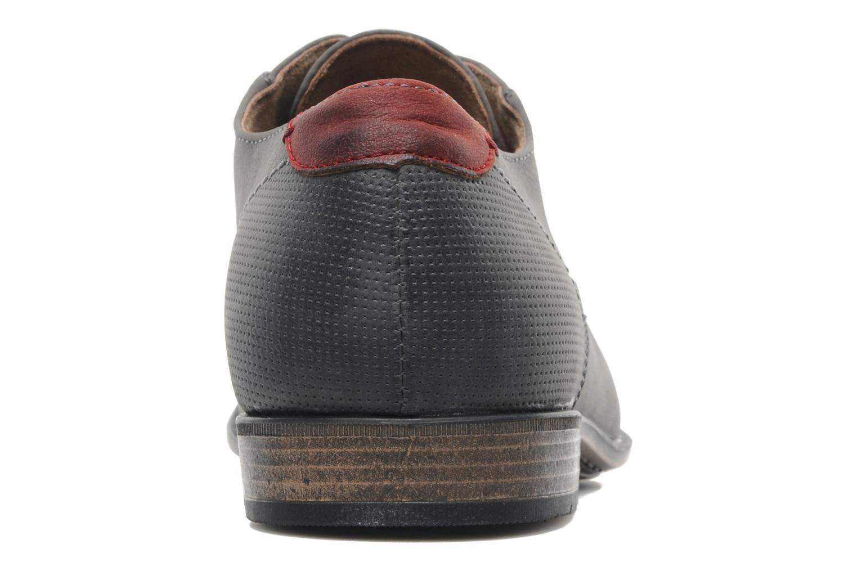 Schnürschuhe I Love Shoes Suréponds grau ansicht von rechts