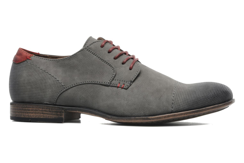 Schnürschuhe I Love Shoes Suréponds grau ansicht von hinten