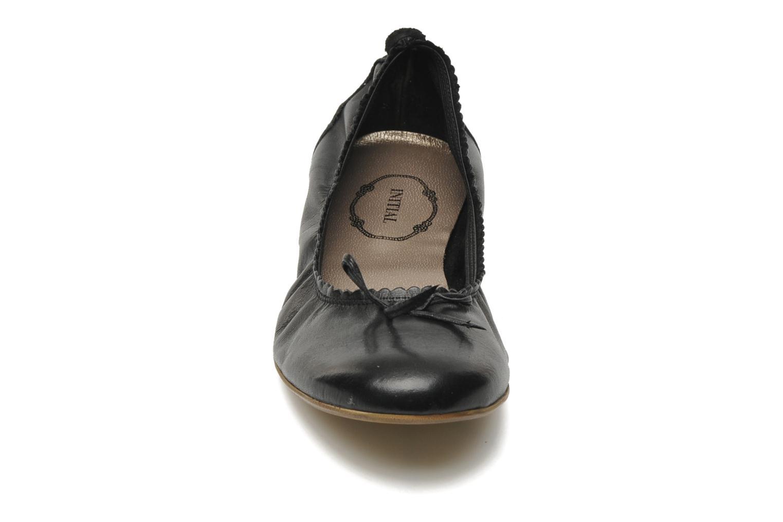 Ballerines Addict-Initial Carillon Noir vue portées chaussures