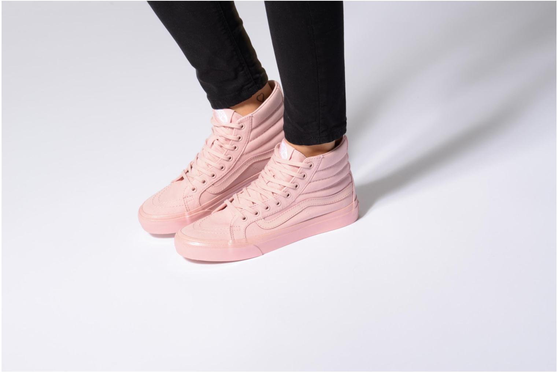 Sneakers Vans Sk8-Hi Slim W Zwart onder